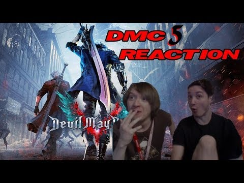 Devil May Cry 5 REVEAL REACTION!!!