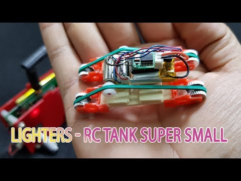 DIY Lighters RC TANK Super Small