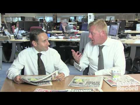 Gregor kyle and keith jackson discuss the possible liquidation of hearts football club