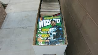 FOUND 15,000 DOLLARS WORTH OF COMIC BOOKS IN THE TRASH!!