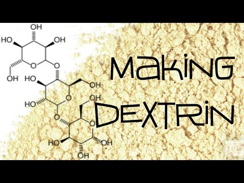 Making Dextrin for Military Thermite