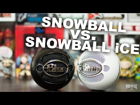 Blue Snowball vs Blue Snowball iCE Comparison (Versus Series)