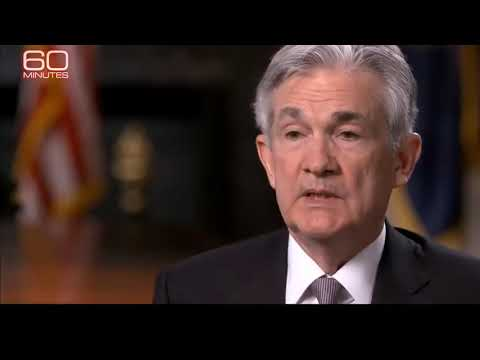 Jerome Powell  - we print money - 60 minutes interview