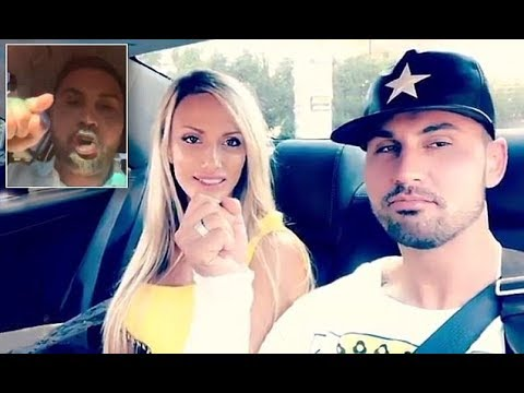 Salim Mehajer's new girlfriend watches his 'outrage' video