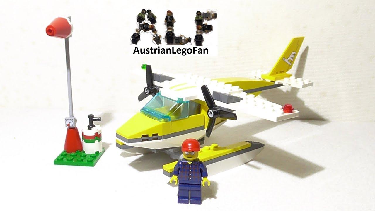 Lego City 3178 Seaplane / Wasserflugzeug - Lego Speed Build Review