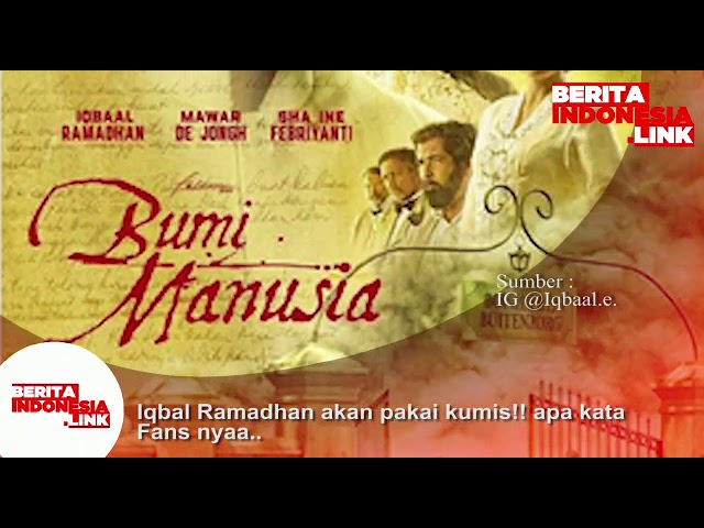 Iqbal Ramadhan berkumis!! Apa kata fans nya..