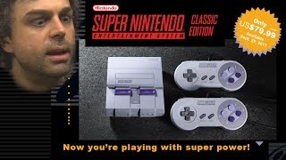 SNES Classic Edition Reveal & Analysis - Pat the NES Punk