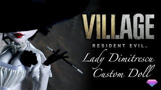 Custom Lady Dimitrescu Doll - Resident Evil:Village
