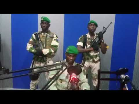 Gabon: coups de feu et message de prise de pouvoir par des militaires