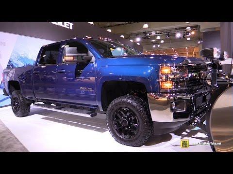 2017 Chevrolet Silverado Alaskan Exterior Walkaround 2017 NY Auto Show