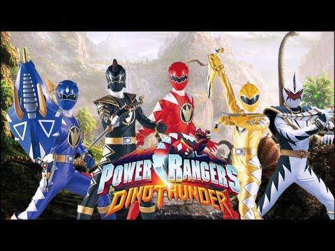 Power Rangers Dino Thunder Opening Sub Indo