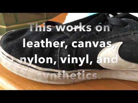How to: Clean your shoes with Vans Gel cleaner