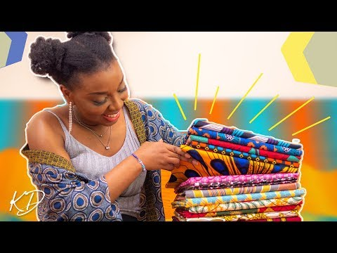 WHERE TO SHOP AFRICAN FABRICS ONLINE IN LONDON | THE KIM DAVE FABRIC SHOP IS LIVE!