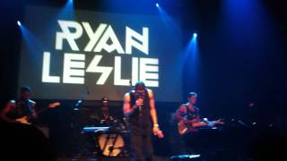 Ryan Leslie - Black Flag (Live at Gramercy Theatre10/04/12)