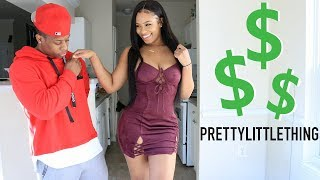 $500 PRETTY LITTLE THING TRY ON FOR BOYFRIEND | 2018 PLT SPRING TRY-ON HAUL!