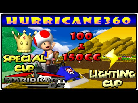 Hurricane360's Mario Kart DS: Special Cup and Lighting Cup (100 and150cc) Toad