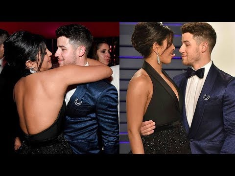 Priyanka Chopra and Nick Jonas PDA At 2019 Vanity Fair's Oscar After Party