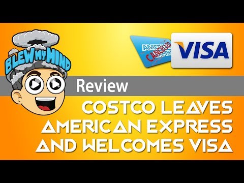 Costco leaves American Express and welcomes Visa