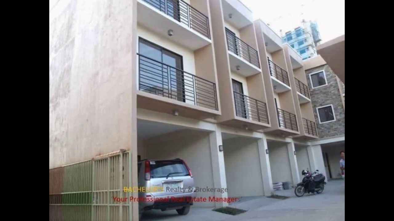 For rent 4 bedroom 3cr 3 storey apartment in talamban cebu for 2 storey apartment floor plans philippines