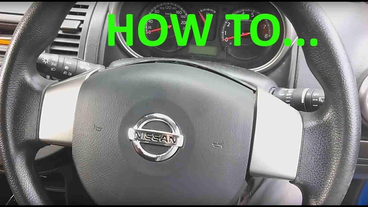 Nissan Navara D40 2010 Wiring Diagram Pex Plumbing Bathroom Note Steering Wheel Horn Airbag Module Removal Youtube