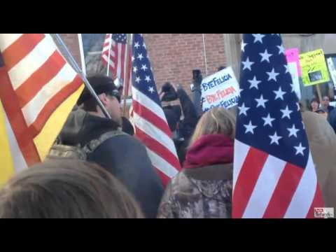Burns Oregon--Protest part 3