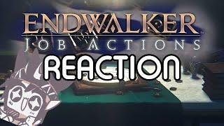 FFXIV ENDWALKER JOB ACTION TRAILER REACTION