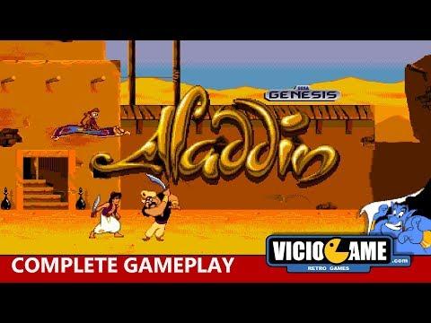 🎮 Aladdin (Mega Drive) Complete Gameplay thumbnail