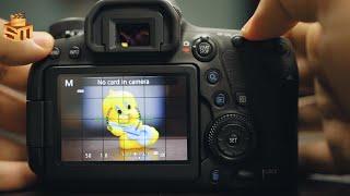 شرح إعدادات كاميرا كانون eos 6d mark 2