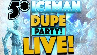 Welcome to the 5* Iceman Dupe Party! So come ask questions.. Hang o...