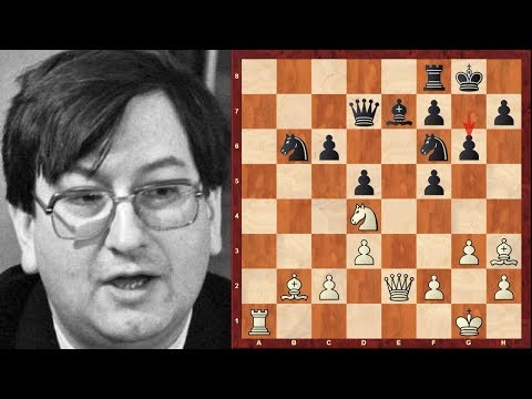 Immortal Chess Game: Raymond Keene Immortal! - Mega-exciting sacrifices blow position wide open!