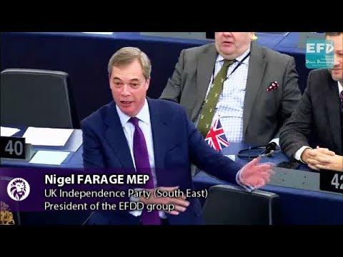 You're a devoted European Unionist harming Irish interests, Mr Varadkar - Nigel Farage MEP