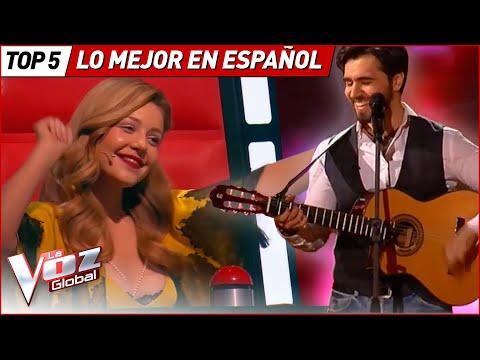 Las MEJORES AUDICIONES en ESPAÑOL de La Voz