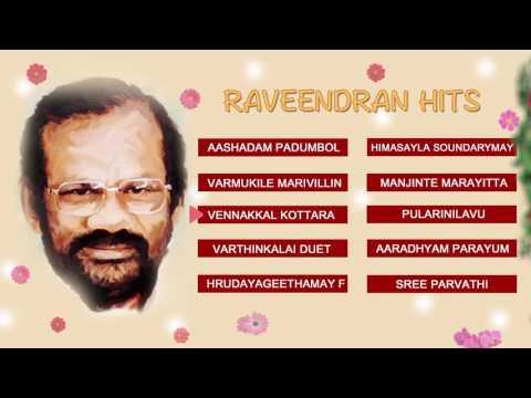 RAVEENDRAN HITS | MALAYALAM EVERGREEN | AUDIO JUKEBOX