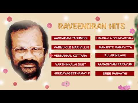 RAVEENDRAN HITS | MALAYALAM EVERGREEN | AUDIO JUKEBOX