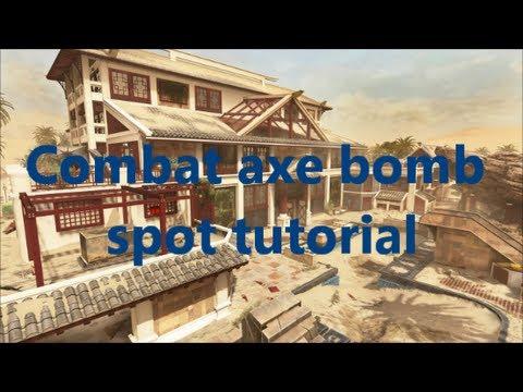 Black Ops 2 Mirage Combat Axe Bomb Spot Tutorial