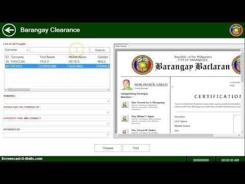 Barangay System