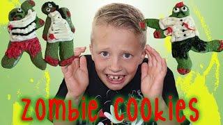 Halloween Zombie Cookies & Witch's Brew Cupcakes