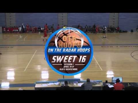 OTR Hoops Sweet 16   17U Big 10 Bracket Championship SC Elite vs  SC Raptors Elite