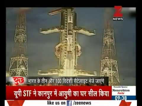 ISRO to launch record 103 satellites at one go next week