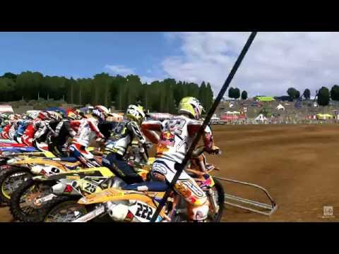 MXGP - The Official Motocross Videogame PC Gameplay (1080p60fps) |