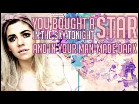 Buy The Stars - Marina and The Diamonds (LYRICS ON SCREEN)