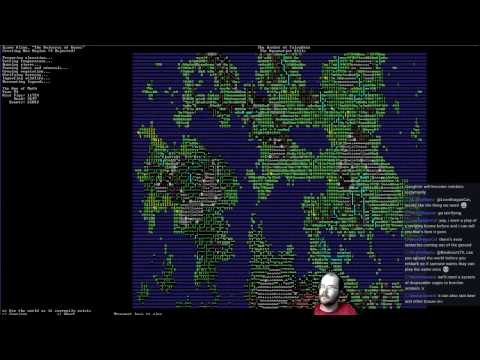 Dwarf Fortress Livestream: The Terrifyingly Peaceful Fortress - #1