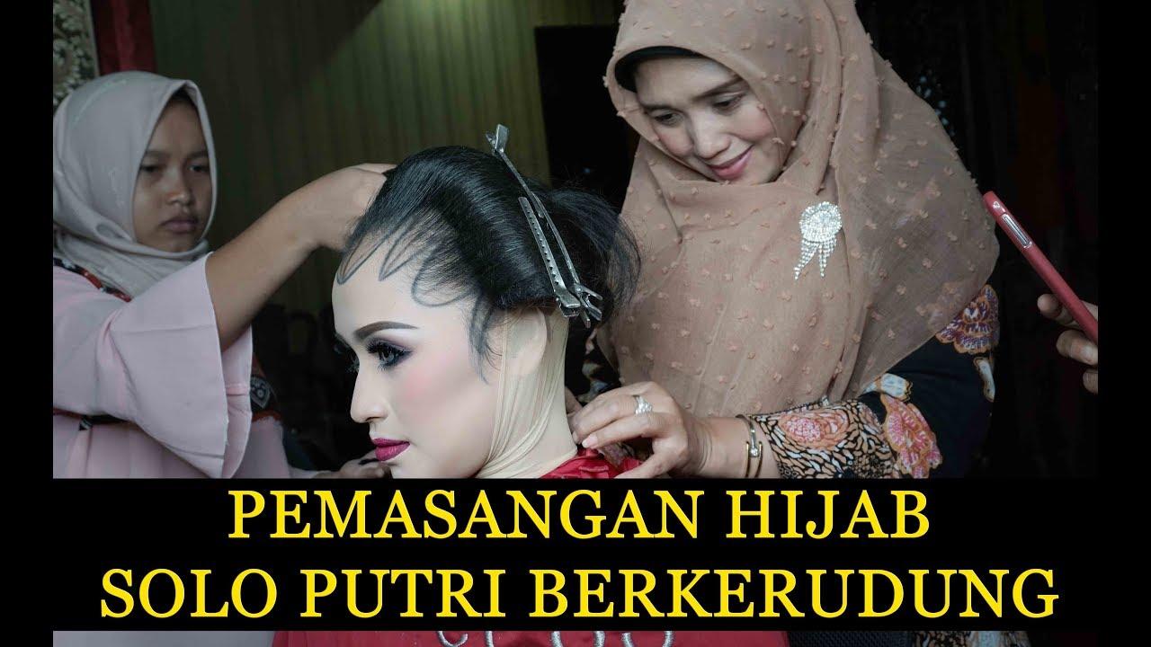 Pemasangan Hijab Pengantin Solo Putri Berkerudung By Ibu Ratna Hidayati