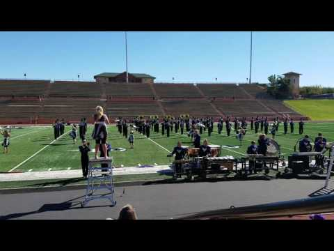 Panhandle High School Marching Band UIL 2016