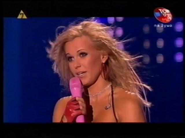 Doda odbiera z?ot? p?yt? na festiwalu 2007