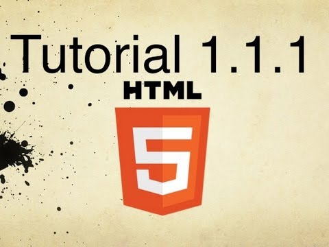 HTML5 Tutorial 1.1.1 | Adding Paragraphs To Web Pages