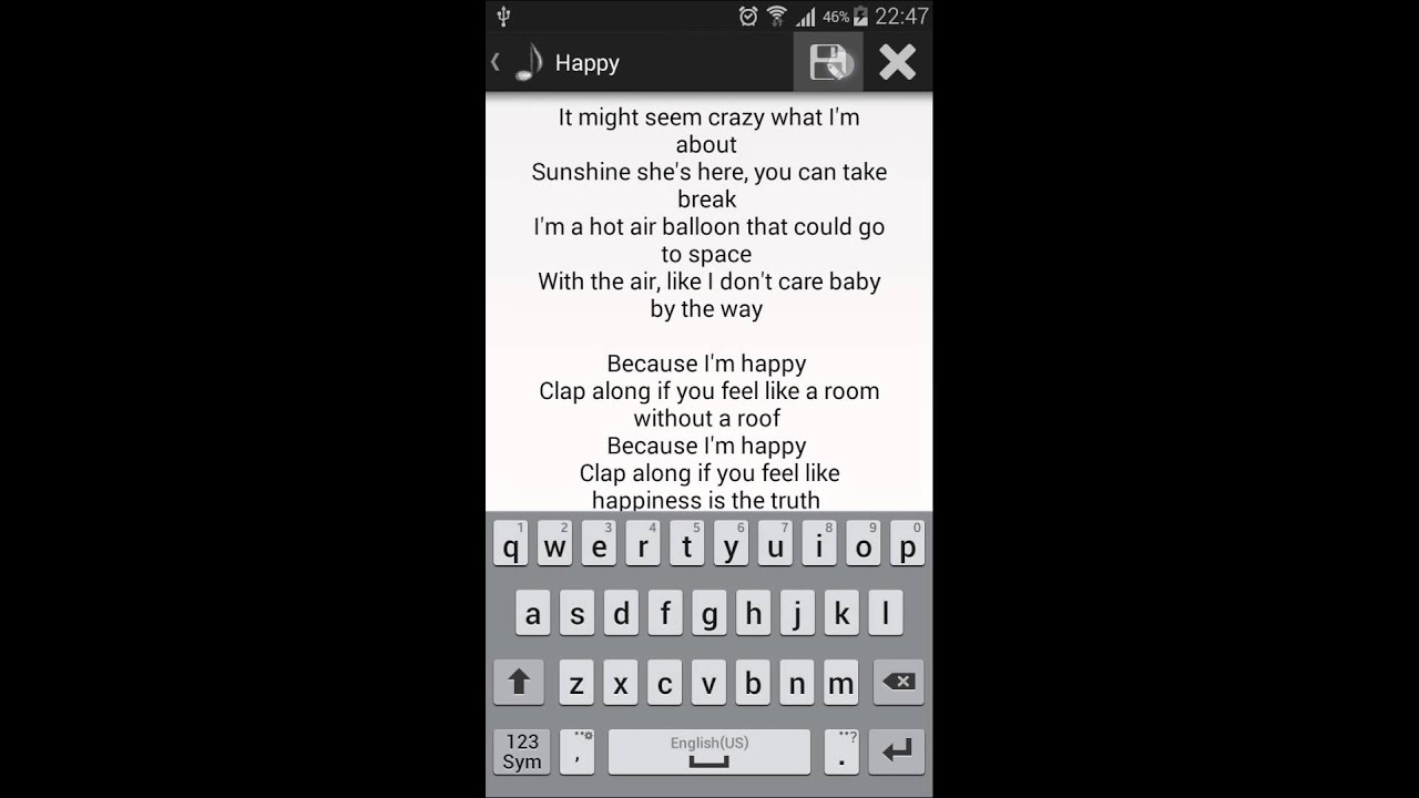 SongBook - Android App