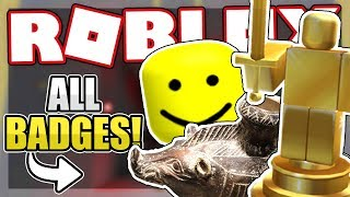 How to get ALL OF THE HIDDEN BADGES | Roblox Hmm