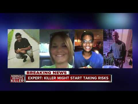"""Serial Killer Experts says Seminole Heights shooter is """"rare"""""""