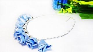Видеоурок: Цветочное ожерелье